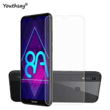 2PCS For Huawei Honor 8A Glass Screen Protector 9H Tempered Film