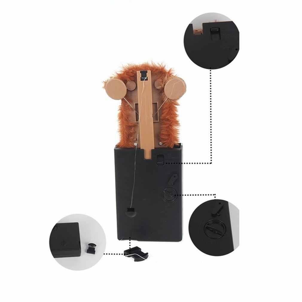 Inovatif Sneekums Hewan Peliharaan Pranksters Mainan Rumit Lucu Monyet Bulu Plastik Pet Mainan Kejutan Pop Up Spoof Monyet Anak-anak Hadiah Baru