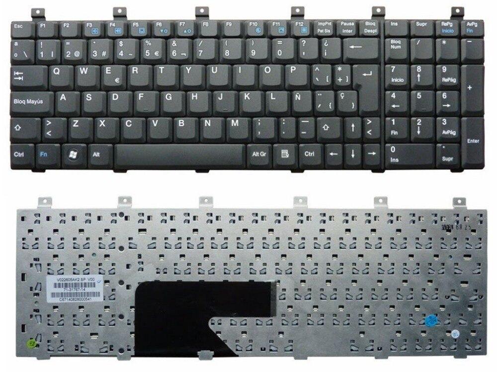 Nouvelles clavier pour Gateway V022605AK2 71-31767-14 SP mise en page