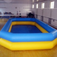 Shanghai factory Inflatable PVC tarpaulin pool, swimming pool for sale(China)