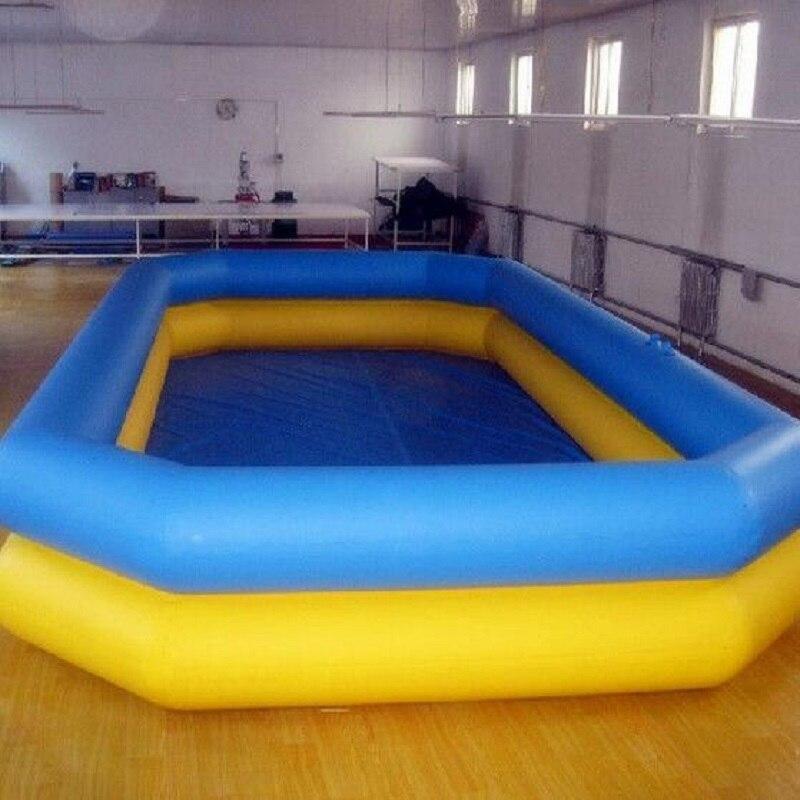 Piscine gonflable de bâche de PVC d'usine de changhaï, piscine à vendre