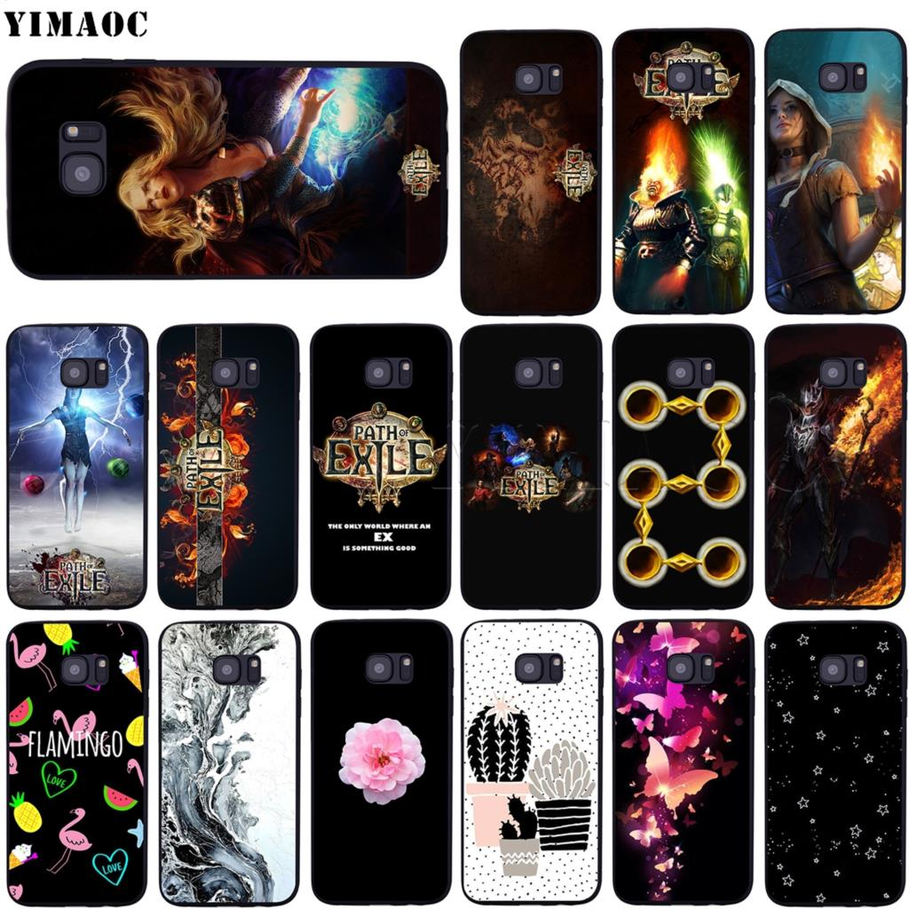 YIMAOC Path of Exile Soft <font><b>Silicone</b></font> <font><b>Case</b></font> for <font><b>Samsung</b></font> Galaxy S6 <font><b>S7</b></font> <font><b>Edge</b></font> S8 S9 Plus A3 A5 A6 Note 8 9 image