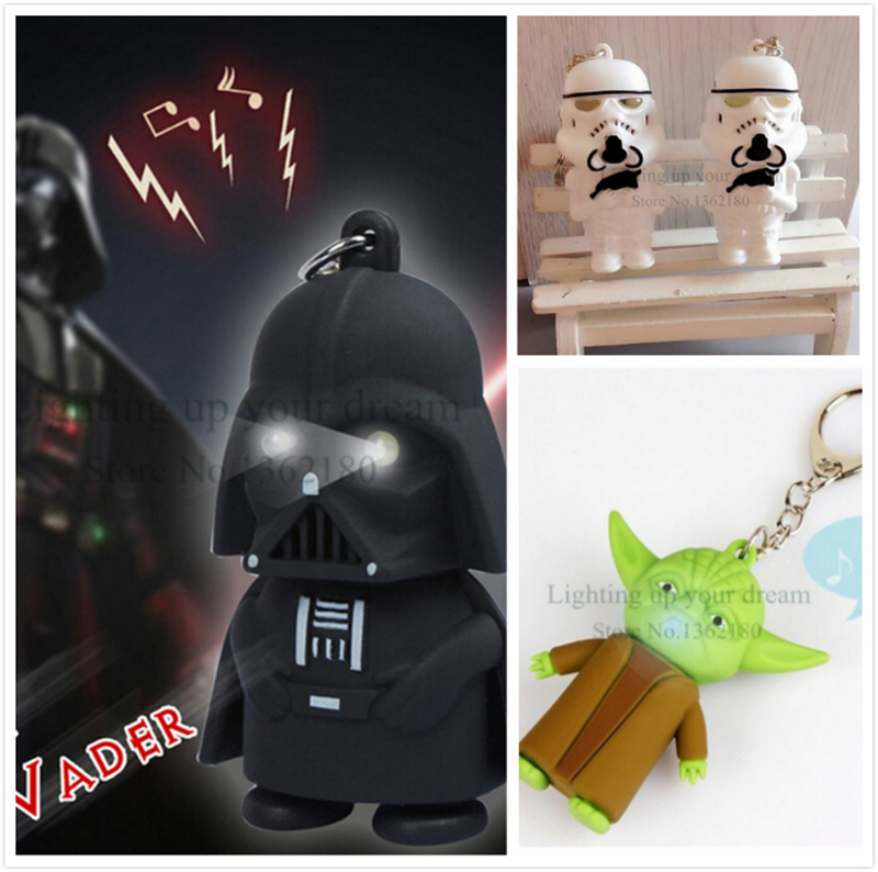 2016 LED Darth Vader star wars actionfigur licht up kühle geschenke ...
