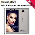 VKworld T1 Плюс Кратос 6.0 дюймов HD Экран 4 Г LTE Смартфон Android 6.0 2 ГБ + 16 ГБ MTK6735 с 3D sensor FM 1 МП мобильный телефон