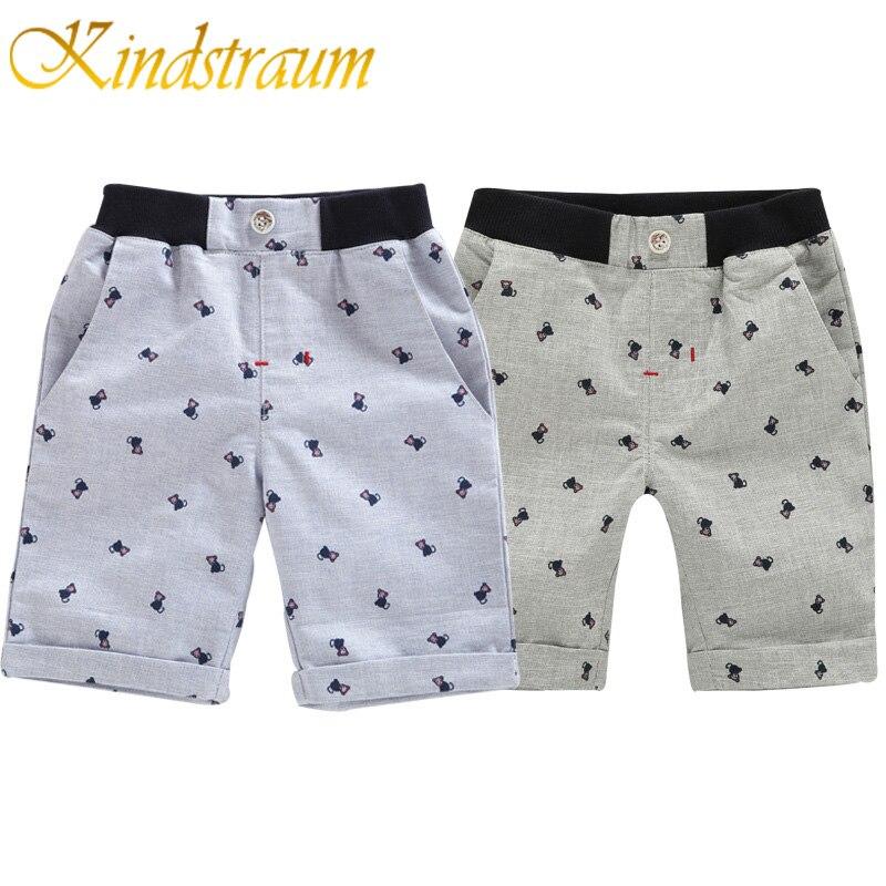 Kindstraum Shorts De Niños 12m Lino Casual Algodón 6y 8OZn0kXNwP