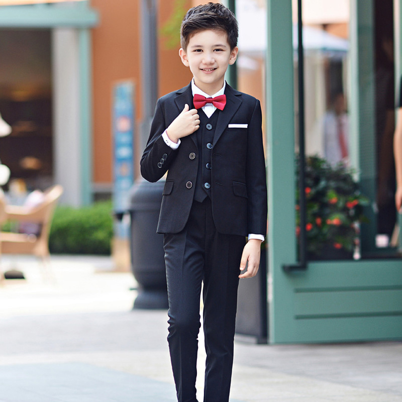a45ddb8e New 5pcs Boys Suits For Weddings Kids Prom Children Clothing Sets Boy  Classic Costume Costum For Boys Coat Pant Vest Shirt - aliexpress.com -  imall.com