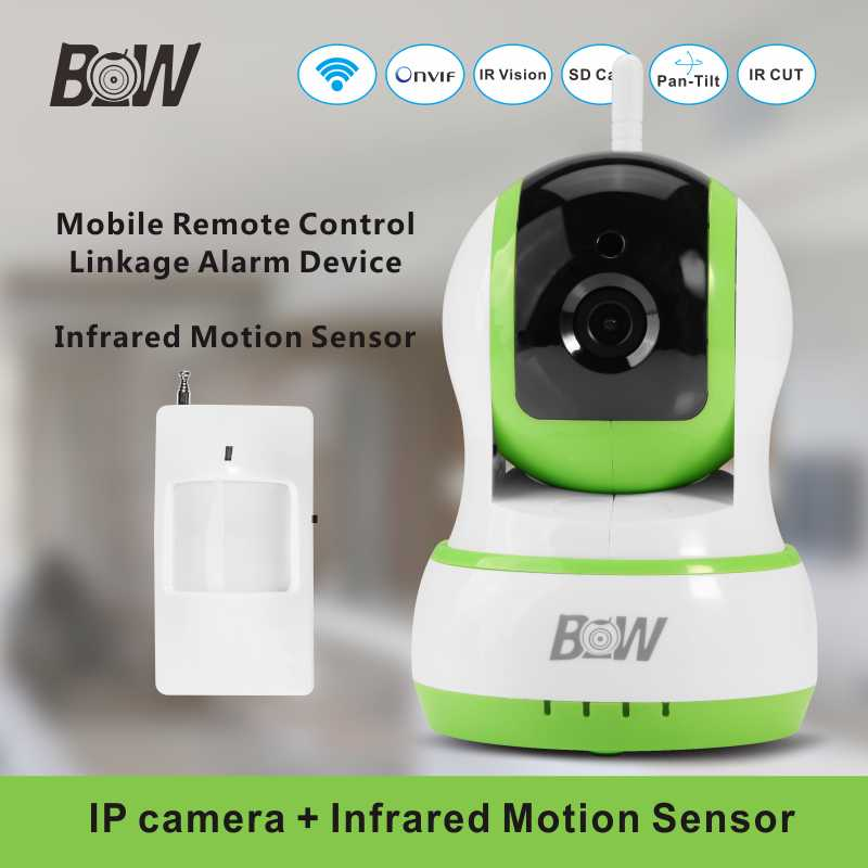 ФОТО Onvif Wifi Camera Infrared + PIR Motion Sensor PnP Alarm Security Indoor Baby Monitor Wireless IP Camera Surveillance System
