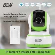 Onvif Wi-Fi Камера Ик + PIR Motion Датчик PnP Охранной сигнализации Крытый Радионяня Беспроводная Ip-камера Системы Видеонаблюдения
