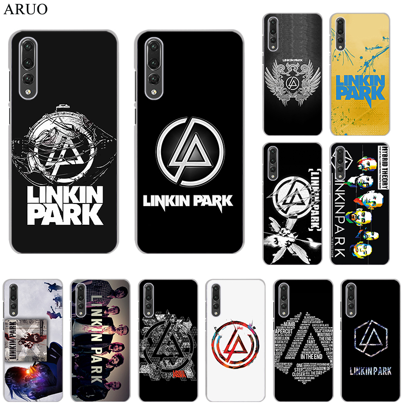 Perfect Rock Linkin Park Logo Clear Hard Cover Case For