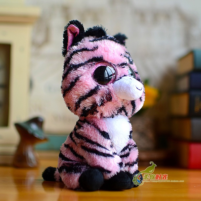 Aliexpress Com Buy 5 Ty Beanie Boos Plush Cute Pink Zebra Doll