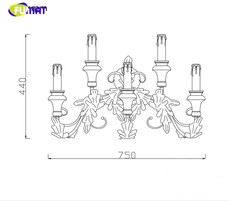 Wall Sconces Candle 10