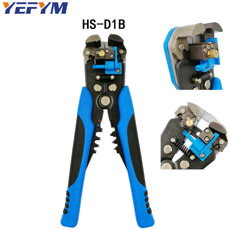 Pliers 3 In 1 Multi Tool Automatic Adjustable Crimping Tool Cable Wire Stripper Cutter Peeling Pliers D1 Blue Repair Diagnostic-tool Tools