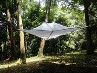 Бесплатная доставка открытый тент Кемпинг гамак москитные сетки гамак подвеска палатка пустое дерево висит Кемпинг дерево палатка