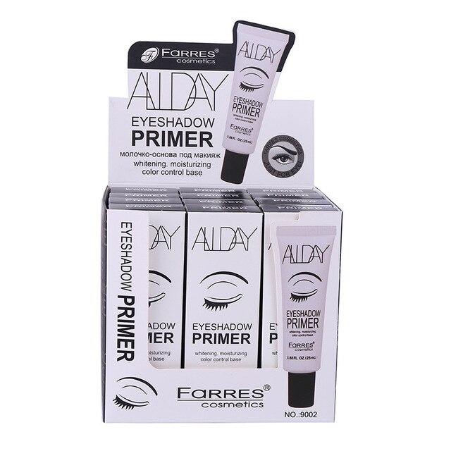 FaRRES brand eyeshadow primer gel waterproof Whitening moisturizing base cream easy to wear eye makeup face primer AM037 2