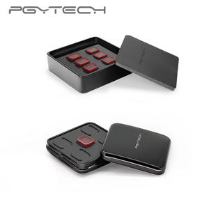 Image 3 - En Stock PGYTECH pour DJI OSMO ensemble de filtres de poche filtre professionnel UV CPL ND8 ND64 ND 64 PL Version progressive