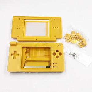 Image 3 - עבור NDSL מהדורה מוגבלת החלפת Shell Case כיסוי עבור Nintendo DS Lite פגז דיור עם כפתור ערכת סט מלא