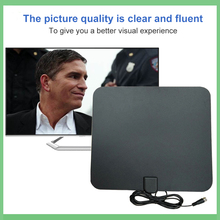 цена на Free TV Fox HD Digital DTV Indoor TV Antenna TVFox HDTV Antena DVB-T DVB-T2 VHF UHF ISDB ATSC DVB Signal Receiver TV Aerial