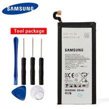 Original Samsung EB-BG920ABE Battery For Samsung GALAXY S6 G9200 G9208 G9209 SM-G920F G920I G920 G920A G920V G920T 2550mAh