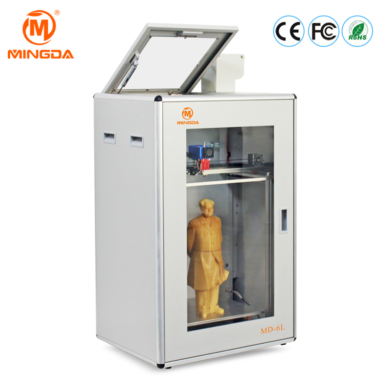 Quiet Printing Large 3D Printer With High Precision PLA ABS TPU Copper Wood Filament 3D Model Making Machine From MINGDA China