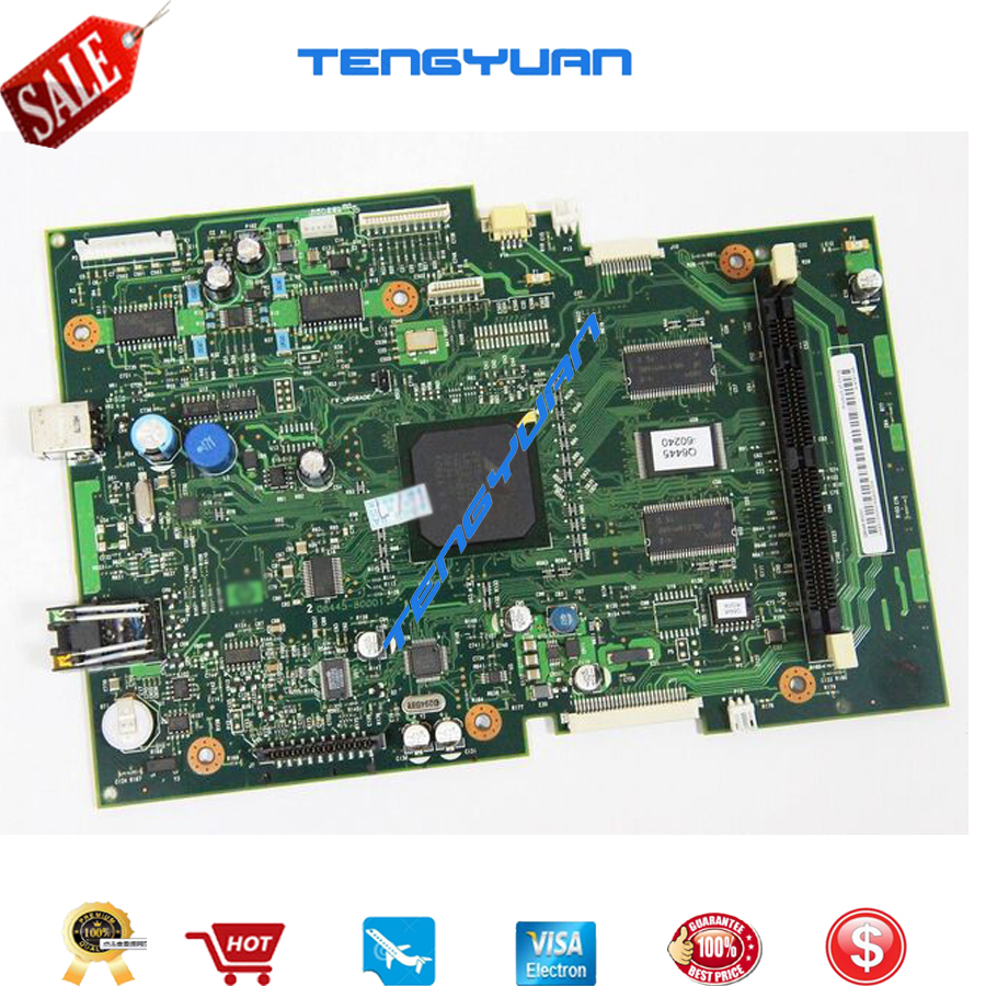 Free shipping 100% tested for HP3390 3392 Formatter Board Q6445-60001 printer parts on sale formatter pca assy formatter board logic main board mainboard mother board for hp m775 m775dn m775f m775z m775z ce396 60001