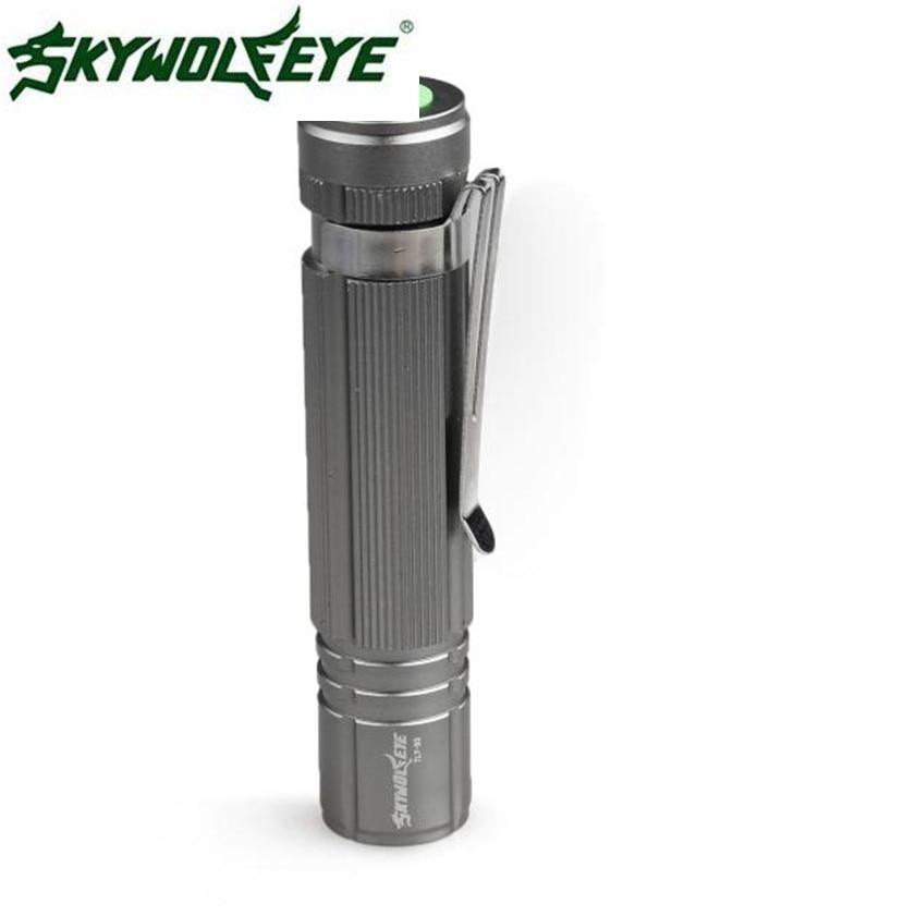 Super 7W CREE Q5 LED 1200lm Mini Flashlight Torch Light 14500/AA Lamp Waterproof