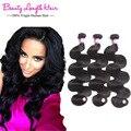 Body Wave 3 Bundles Brazilian Virgin Hair Queen Hair Products 8A Brazilian Wavy Human Hair Weave Bundle Remy Brazilian Body Wave