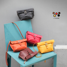 YIFANGZHE Small genuine leather crossbody bag for girls, Premium fashion classical flap Roomy Cellphone, mini women bags