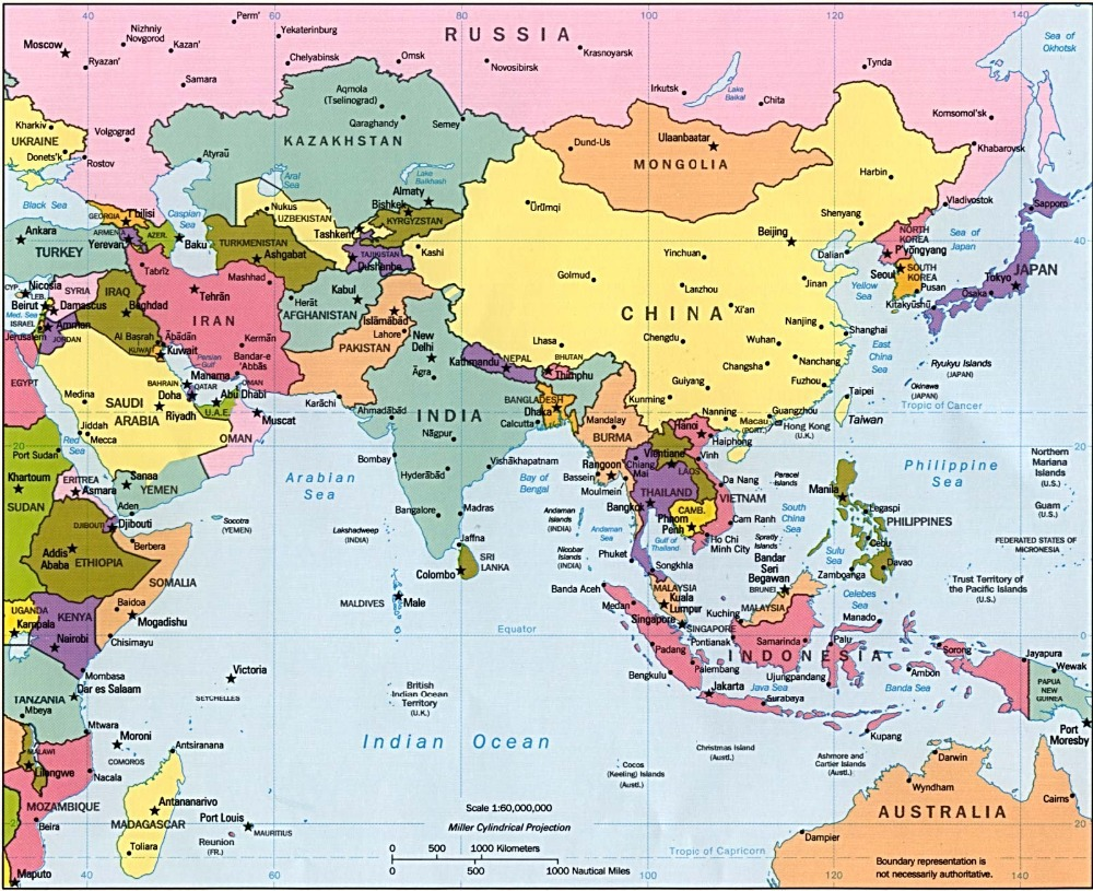 Online Buy Wholesale south asia map from China south asia map – Map South Asia