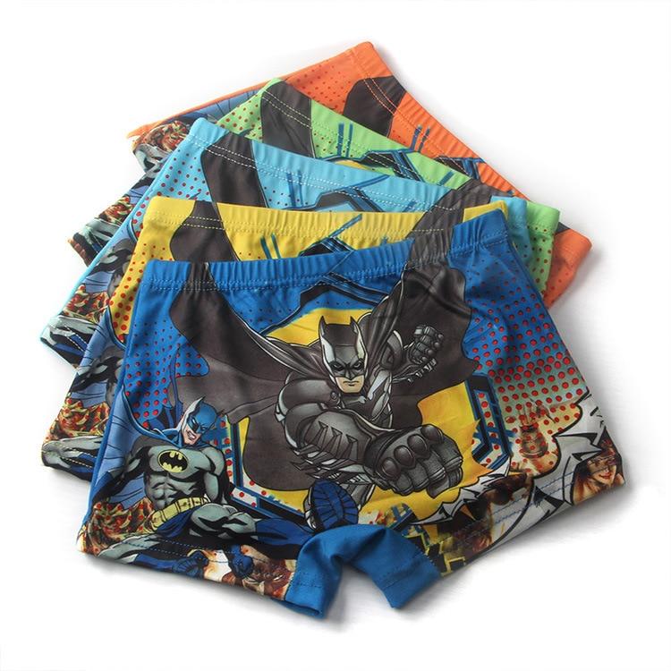 Hot Briefs for Boys Underwears Panties Infant Boxers Briefs Shorts Cotton Cartoon Batman Teenager Underwears for 2-7 years old скуби ду лего