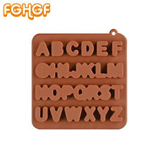 Square Alphabet Silicone Mold for Resin Jewelry Making Handmade Fondant Baking Tool Capital Letter DIY Molds