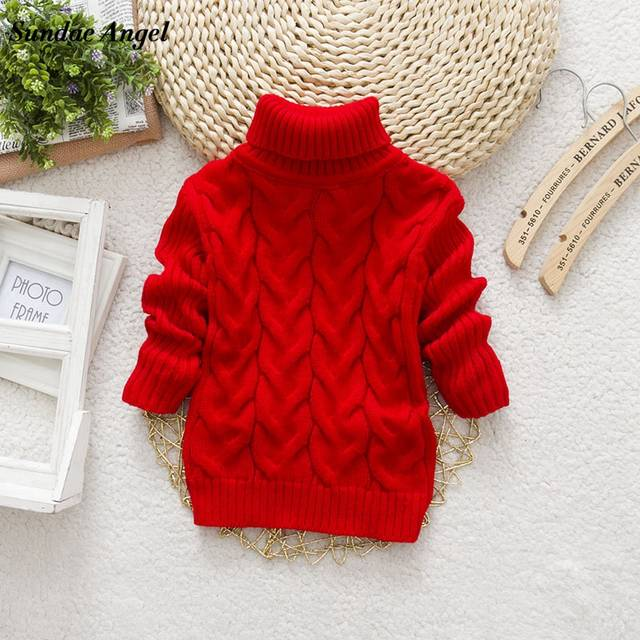 abc29330c Online Shop Sundae Angel Baby Girl Sweater Kids Boy Turtleneck ...