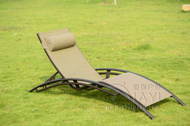De alta qualidade Ao Ar Livre mobiliário cadeira de praia espreguiçadeira para piscina Pátio móveis de transporte por mar