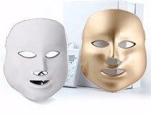 LED Facial Mask 3/7 Color Photon Electric LED Mask Anti Wrinkle Acne Removal Skin Rejuvenation Beauty Device