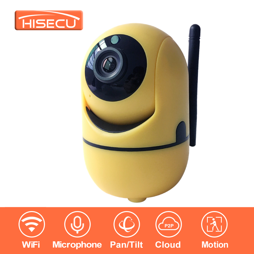 HiSecu 1080P Full HD Wireless Home Security IP Camera IR-Cut & Night Vision & Two-Way Audio Recording Surveillance Indoor easyn a115 hd 720p h 264 cmos infrared mini cam two way audio wireless indoor ip camera with sd card slot ir cut night vision