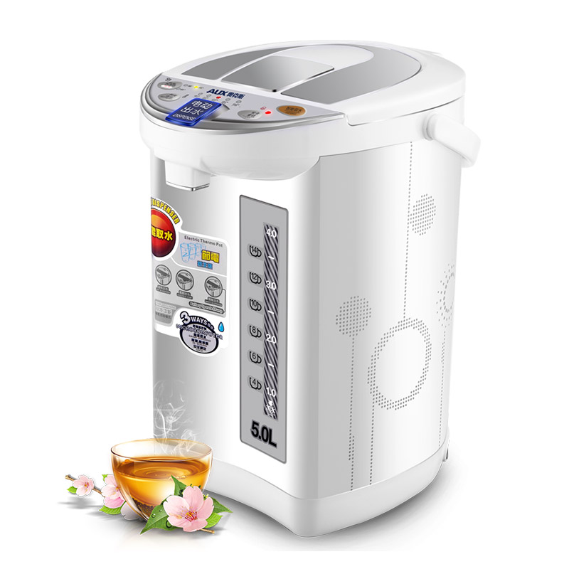 220V AUX 5L Instant Heating Electric Hot Water Dispenser Boiler Full-automatic Household Electric Kettle Bottle 220v 4l automatic water supply dispenser fast heating instant boiling water machine automatic child lock after using