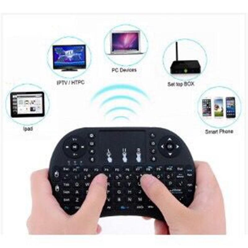 Basix Keyboard 2.4G Mini Wireless Keyboard+Air Mouse+TouchPad Keypad Gaming Keypad For Android TV Box/IPTV/PC/Laptops