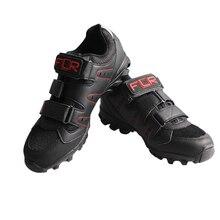FLR Bushmaster bicycle lock shoes new bike shoes male road bike mountain bike riding shoes breathable anti – skid lock shoes