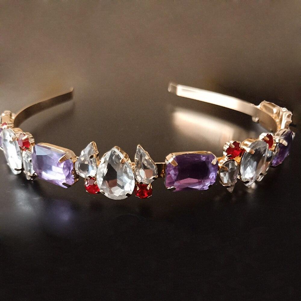 Crystal Wedding Bridal Star Crown Headband Tiara Prom Jewelry Hair Accessories