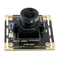 1080 p 2.1mm obiektyw szerokokątny H.264/MJPEG cmos mini moduł kamery USB