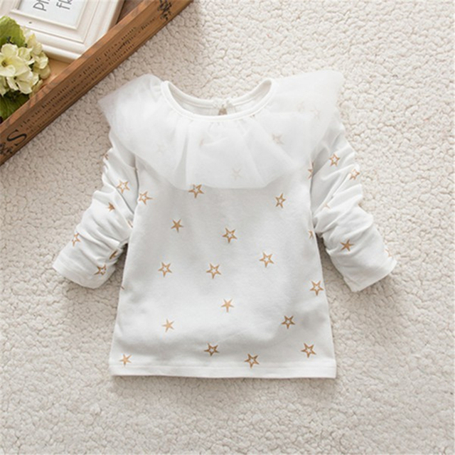 Baby Girl Ruffled T-Shirt