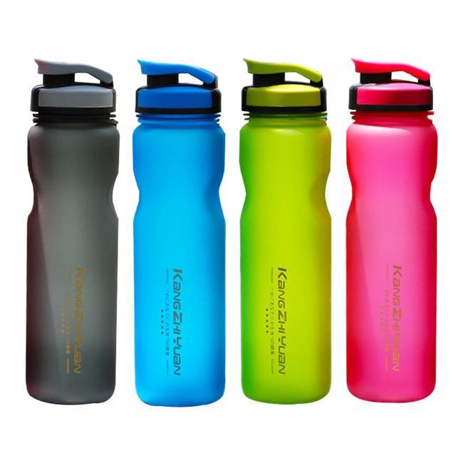 1L gran capacidad de plástico grande BPA botella de agua libre 1 litro/34 oz deportes a prueba de fugas bloqueo seguro deportes resistentes a la rotura de la tapa
