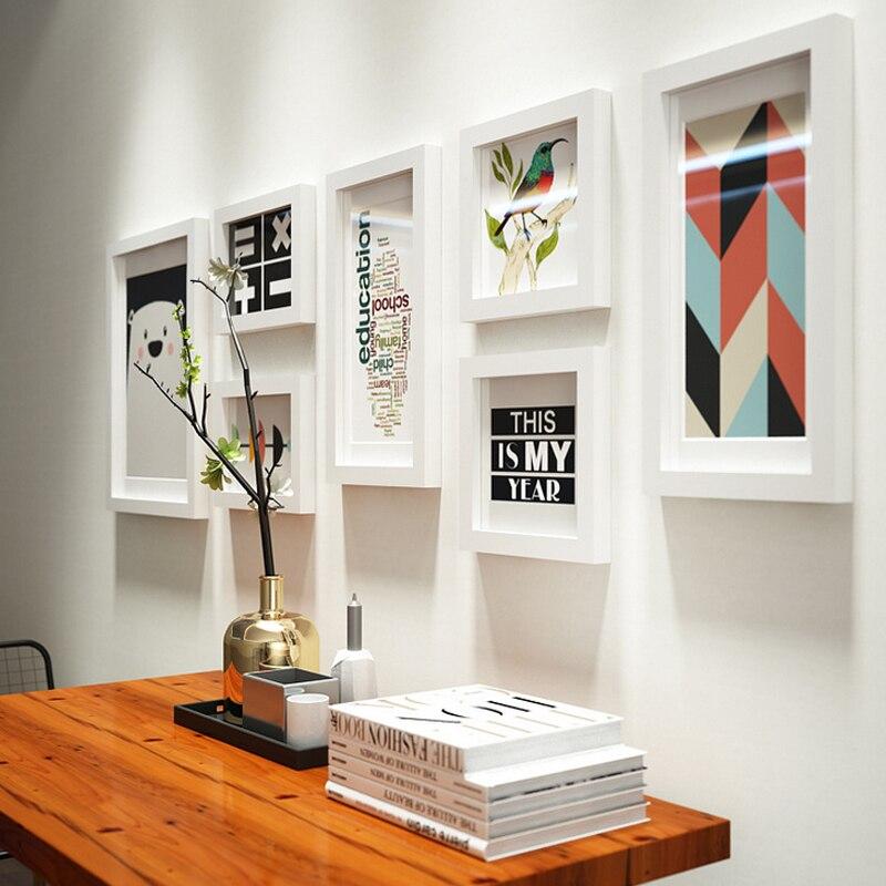 La vida moderna sala de ornamentos foto pared marco de fotos marco ...