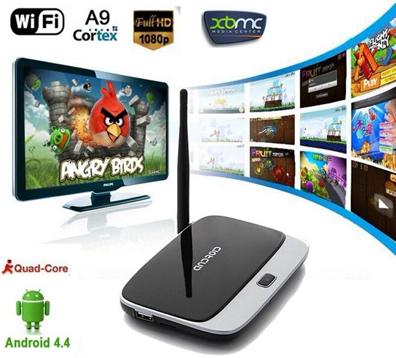 US $54 8  Smart TV Box XBMC Kodi Fully loaded CS918 Q7 RK3188 Quad Core  Android 4 4 Arabic IPTV TV Box 1080P 2GB/8GB Support Russian IPTV-in  Set-top