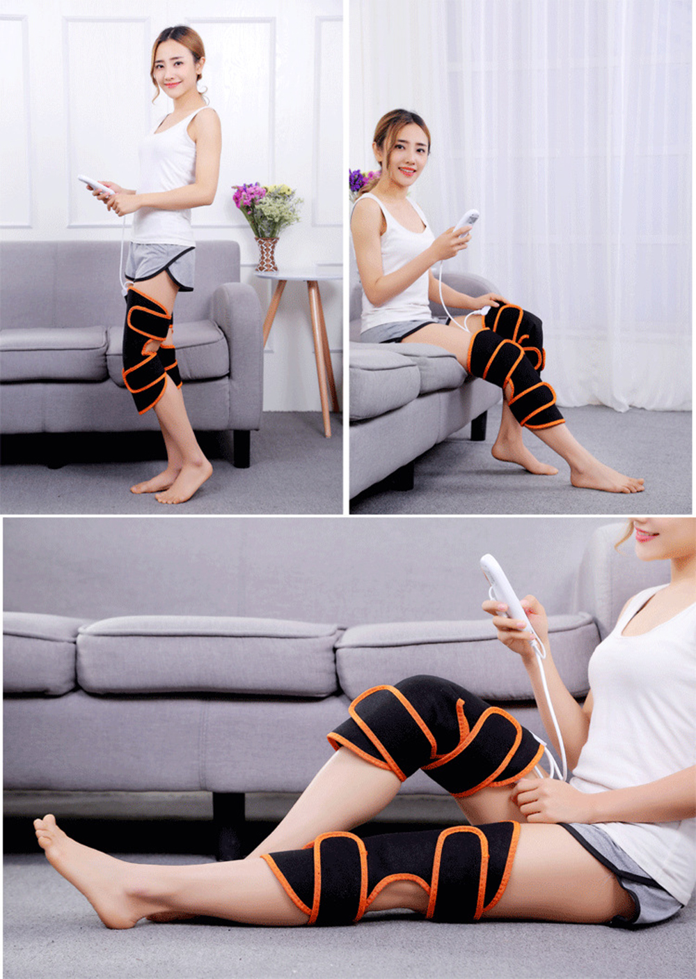 Electric Heating Knee Massager  (9)