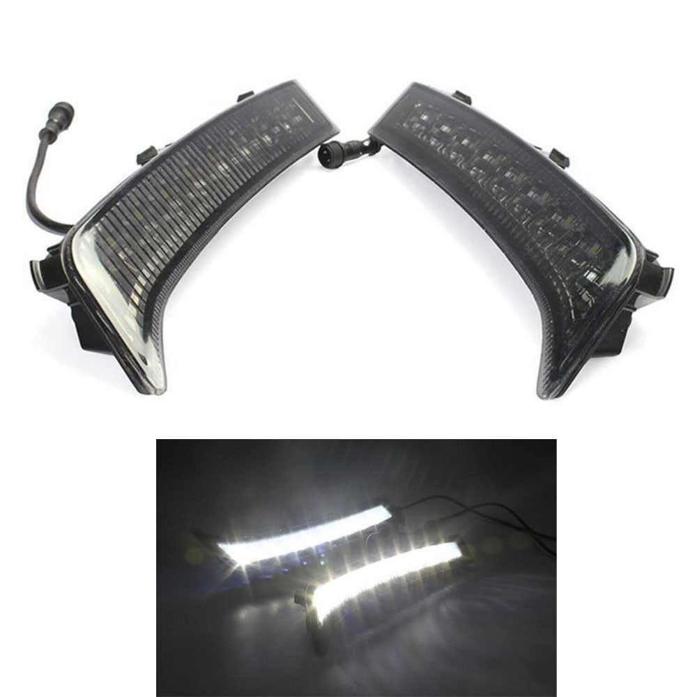 купить Brand New LED Daytime Running Light 9 Lamp Fit For Forester DRL Fog Lamp 2013-2015 недорого