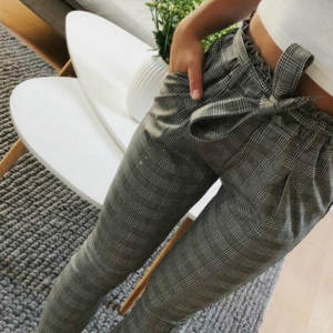 RAGEDEOR High Waist Women Summer Female Striped Trousers