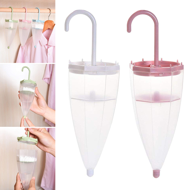 Umbrella Moisture Absorbers Box Household Replaced Hanging Wardrobe Box With Desiccant Cleaning Dehumidifier Tools  HTQ99