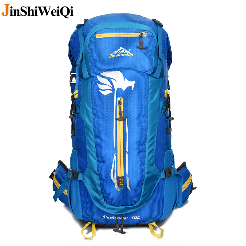 36L-50L Waterproof Nylon Women&Men Travel Backpack Hike Camp Climb Mochilas Masculina Brand Bagpack Mountaining Back Bag large 75l feel pioneer professional waterproof cr travel backpack camp hike mochilas climb bagpack laptop bag pack for men women