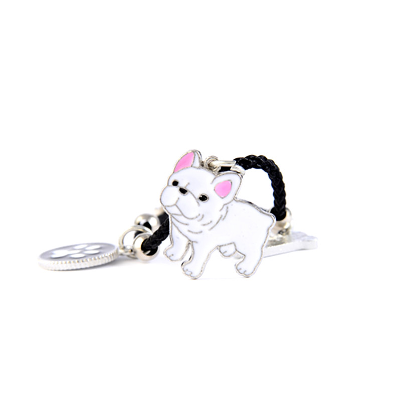French Bulldog Charm Bracelets Bangles Women Girls Silver Color Dog Pendant Rope Chain Female Wrap Bracelet Jewelry Bijoux Femme 5