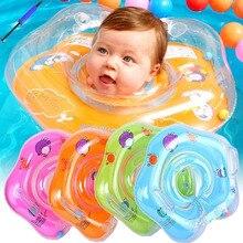 Плавательный бассейн детский спасательный круг на шею домашний толстый спасательный буй тренажер поплавок Zwemband Zwembad детский надувной бассейн Bebes Juego Bouee zwem